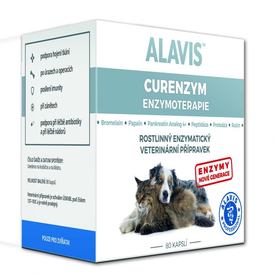 Alavis Curenzym Enzymoterapie 80tbl