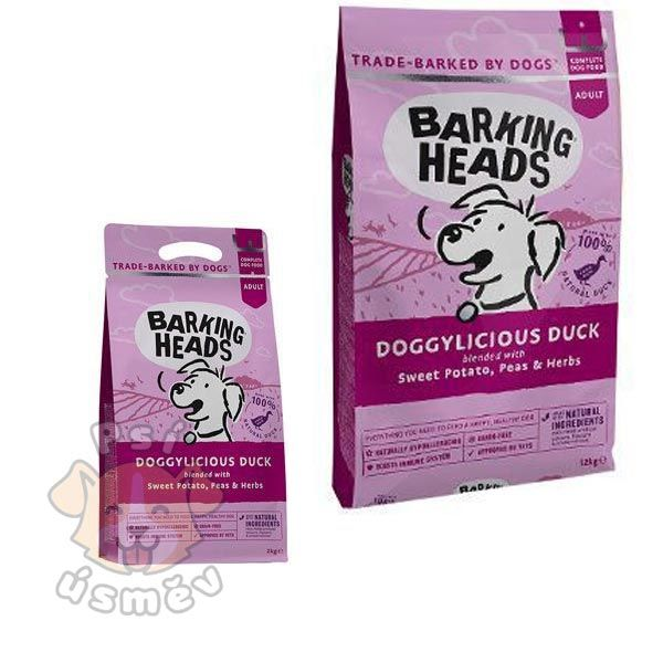 BARKING HEADS Doggylicious Duck 2kg