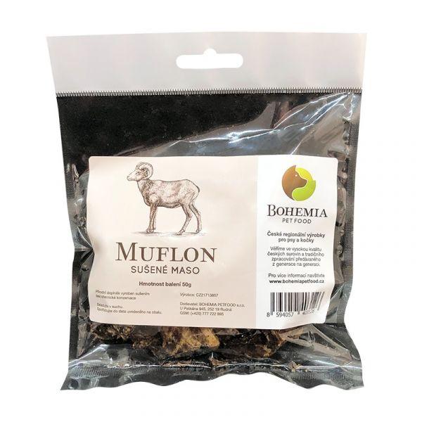 BOHEMIA Muflon sušené 50 g 6+1 ZDARMA