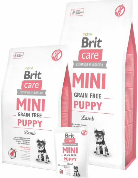 Brit Care Mini Grain Free Puppy Lamb 7kg