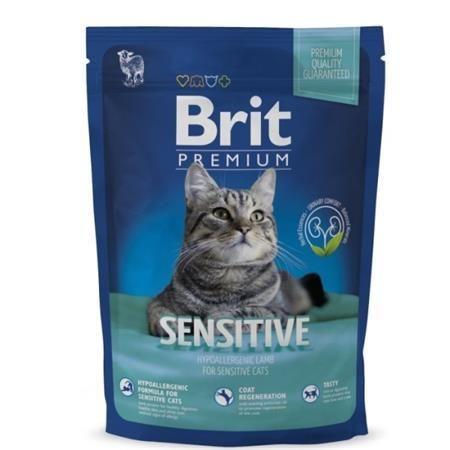 Brit Premium Cat Sensitive Lamb 300g + kapsička