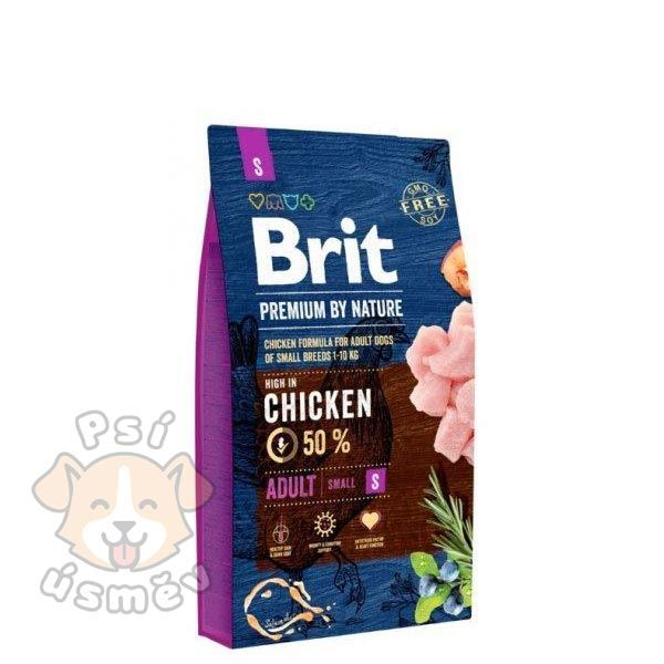 Brit Premium Dog by Nature Adult S 8kg