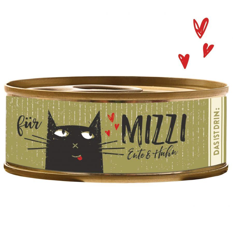 BUBECK Konzerva Mizzi Ente & Huhn 100 g