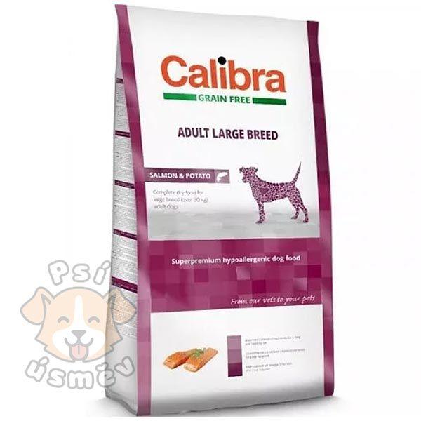Calibra Dog GF Adult Large Breed Salmon 12kg
