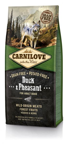 Carnilove Duck & Pheasant for Adult 12kg