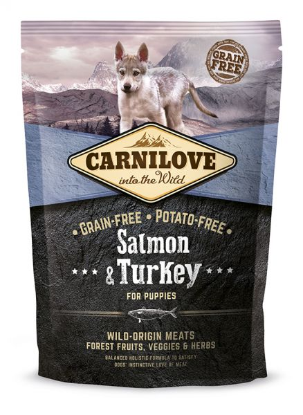 Carnilove Salmon & Turkey for Puppy 1,5kg