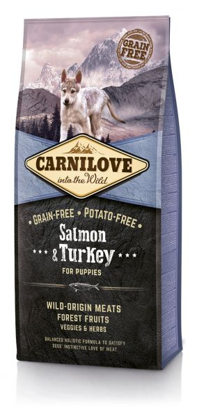 Carnilove Salmon & Turkey for Puppy 12kg