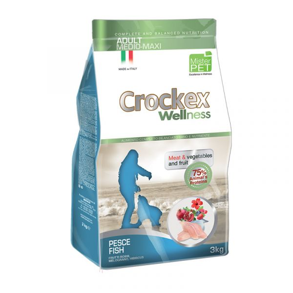 Crockex Adult Fish & Rice 12 kg