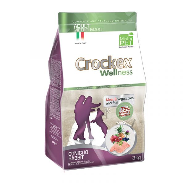 Crockex Adult Rabbit & Rice 12 kg