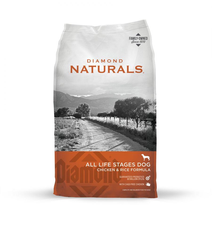 DIA NATURALS Chicken & Rice 18,14 kg