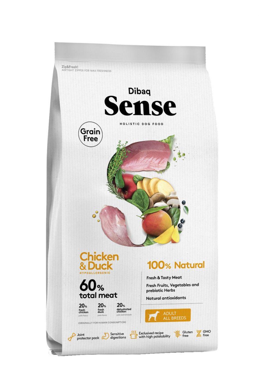 DIBAQ SENSE Chicken&Duck 2 kg