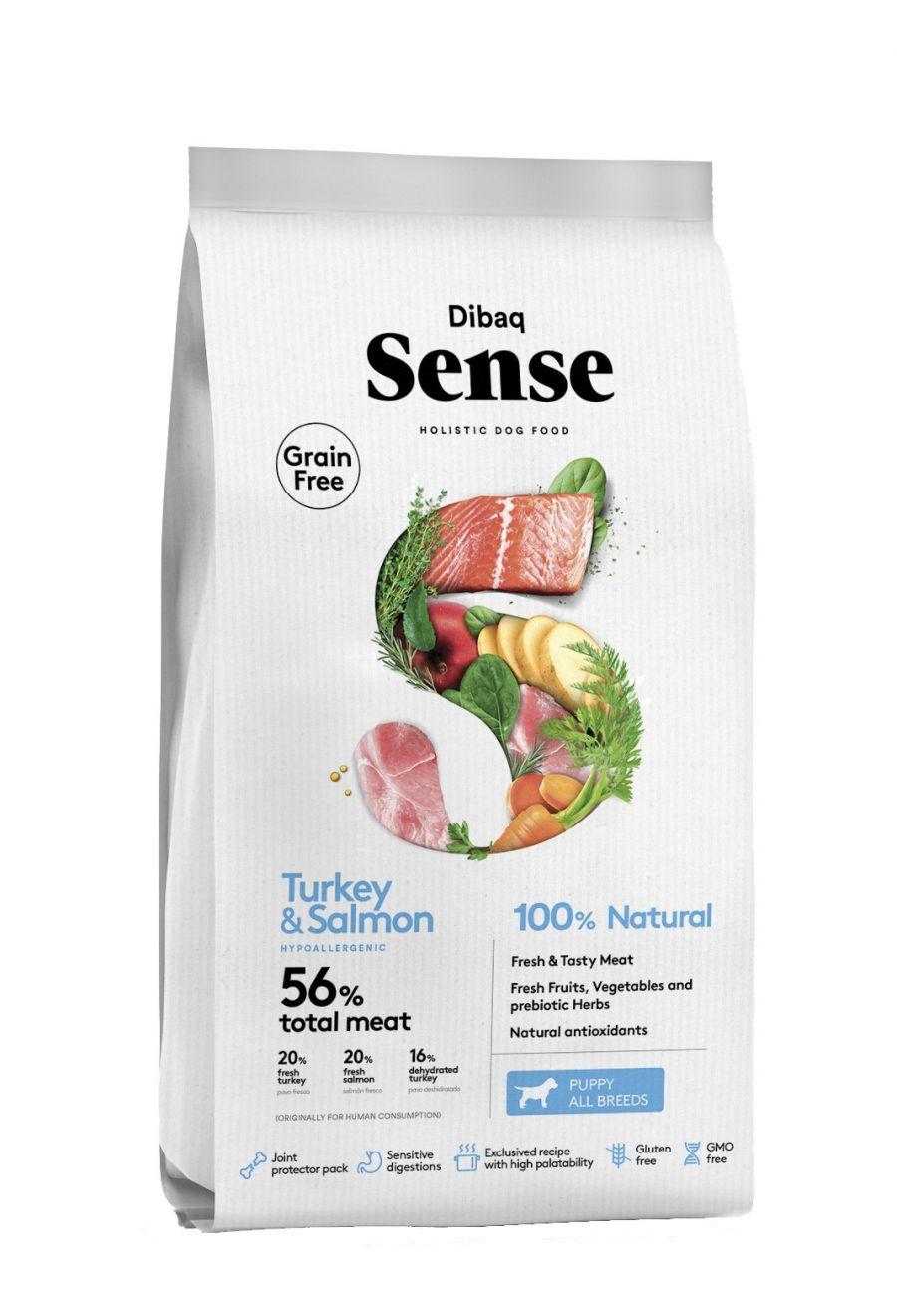 DIBAQ SENSE Salmon&Turkey PUPPY 2 kg