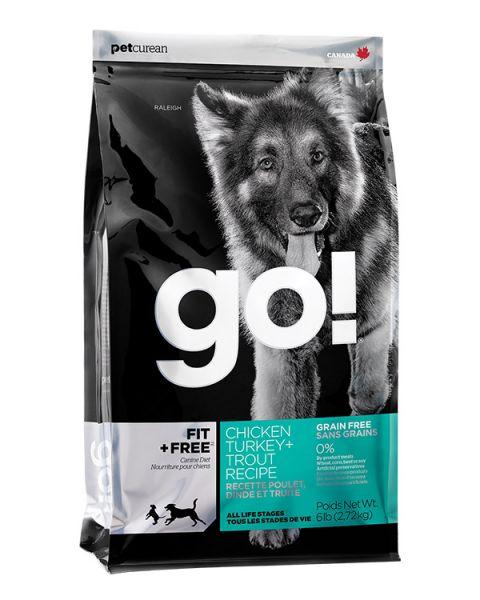 GO Fit+Free Grain Free DF 2,72 kg