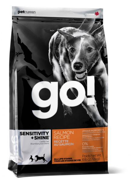 GO Sensitive+Shine Salmon DF 11,33 kg