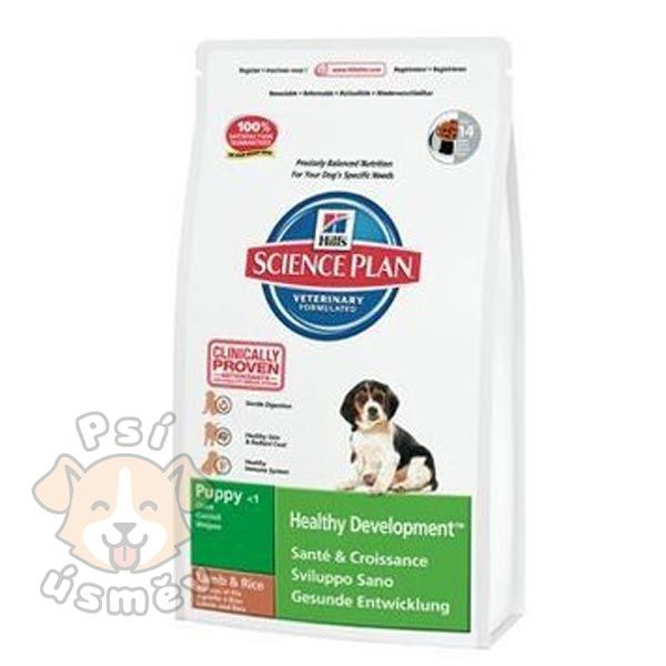 Hills Canine Dry Puppy Growth Lamb&Rice 12kg