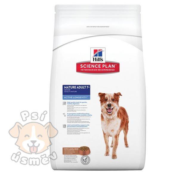 Hills Canine Dry Senior Lamb&Rice 12kg