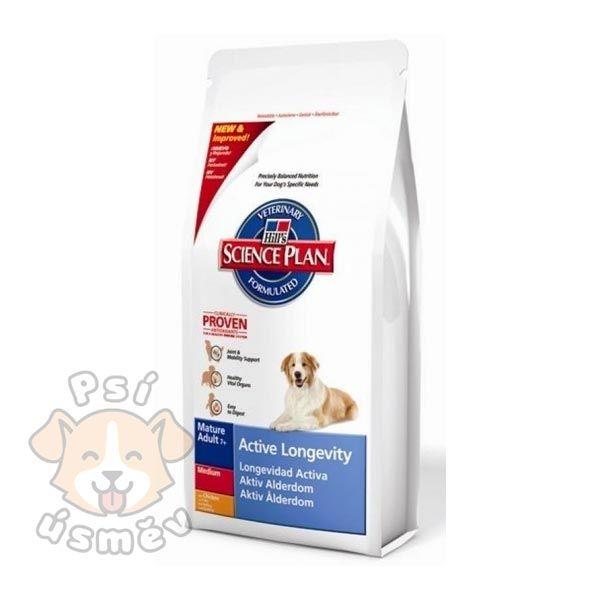 Hills Canine Dry Senior Light 12kg