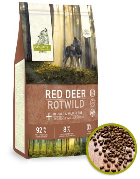 ISEGRIM Adult Forest: Jelen s lesními plody 3kg