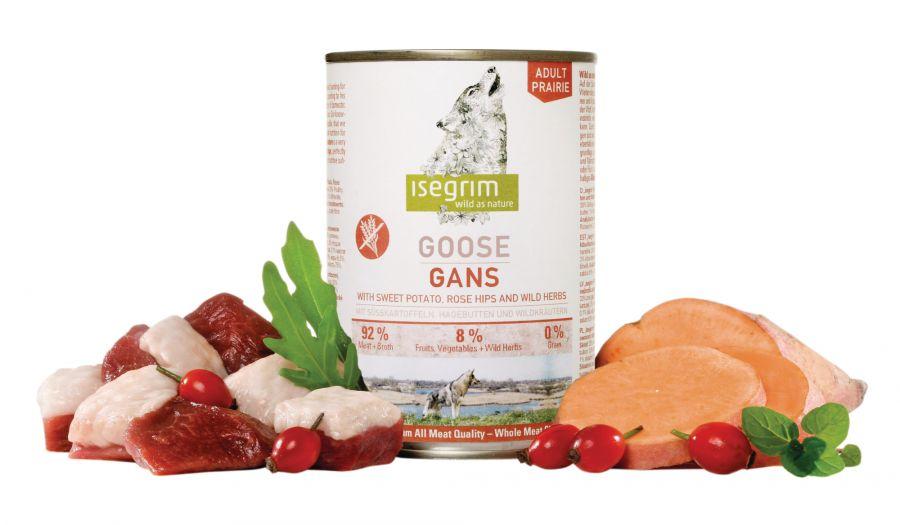 ISEGRIM Adult Prairie: Husa s batáty, šípkem a bylinkami 400 g