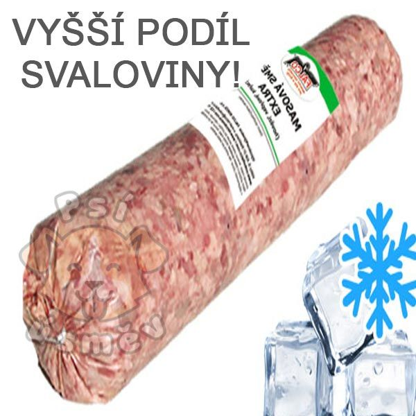 Masová směs Premium hovězí+vepřová salám 6x 1kg