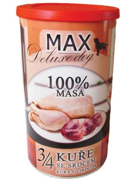 Max deluxe 3/4 kuřete se srdcem 1200g/8ks