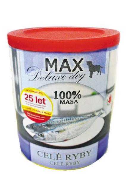Max deluxe celé ryby 800g/8ks