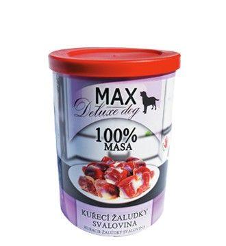 Max deluxe kuřecí žaludky - svalovina 400g