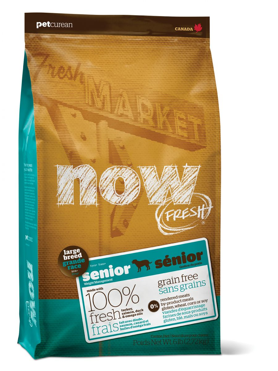 NOW FRESH Grain Free Large Breed Senior DF 11,33 kg