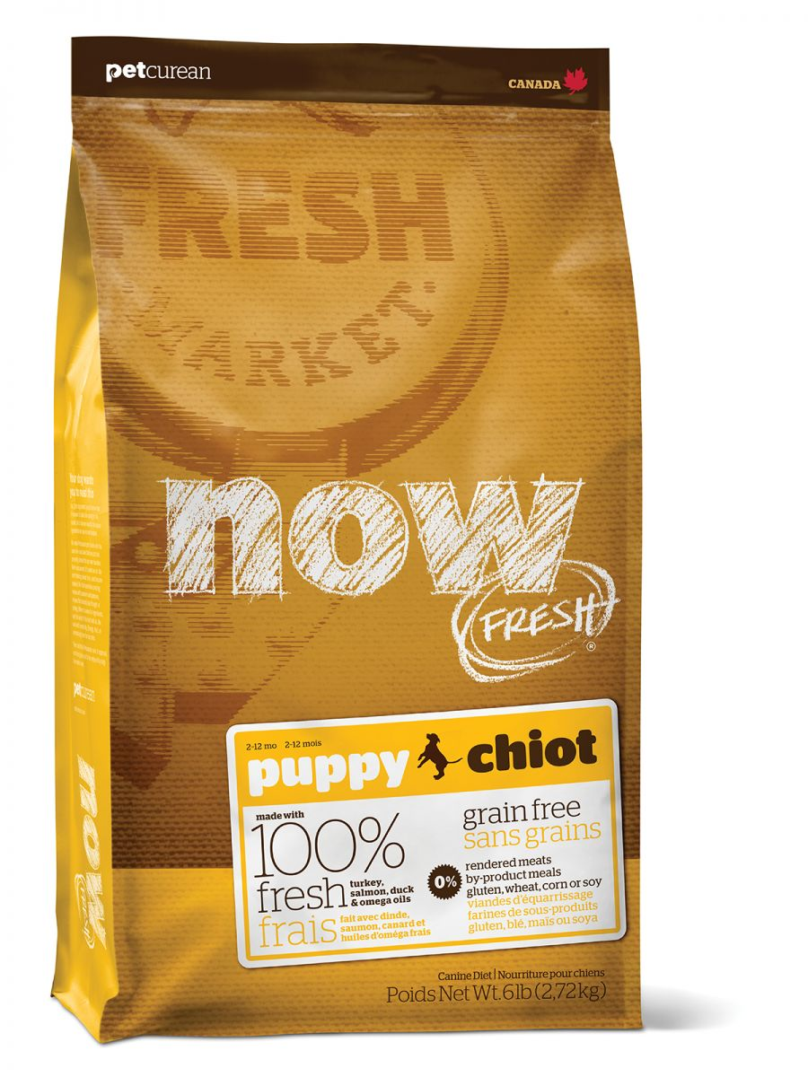 NOW FRESH Grain Free Puppy DF 2,72 kg