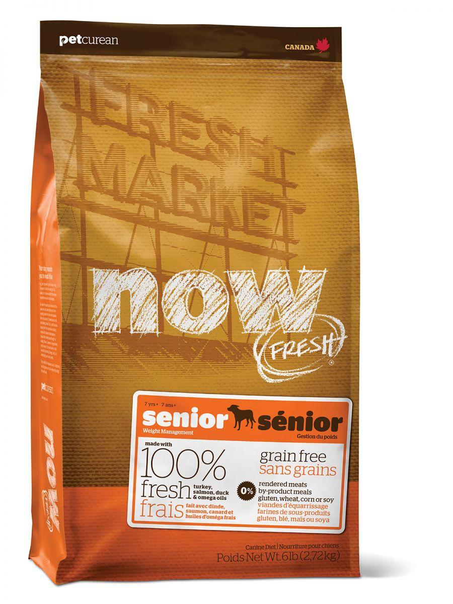 NOW FRESH Grain Free Senior DF 2,72 kg