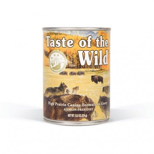 Taste of the Wild High Prairie konzerva pes 375g