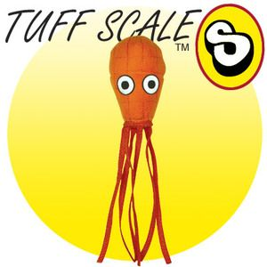 TUFFY Ocean Creature JR Squid orange