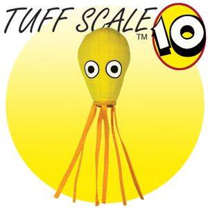 TUFFY Ocean Creature Mega Squid Yellow