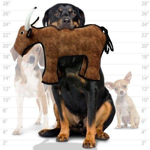 Tuffy odolné hračky pro psy - Býk