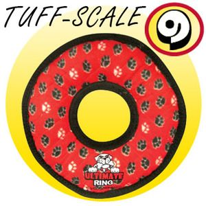 TUFFY Ultimates Ring Red Paws
