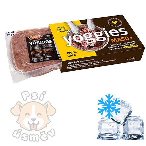 Yoggies MASO+ 100% kuře