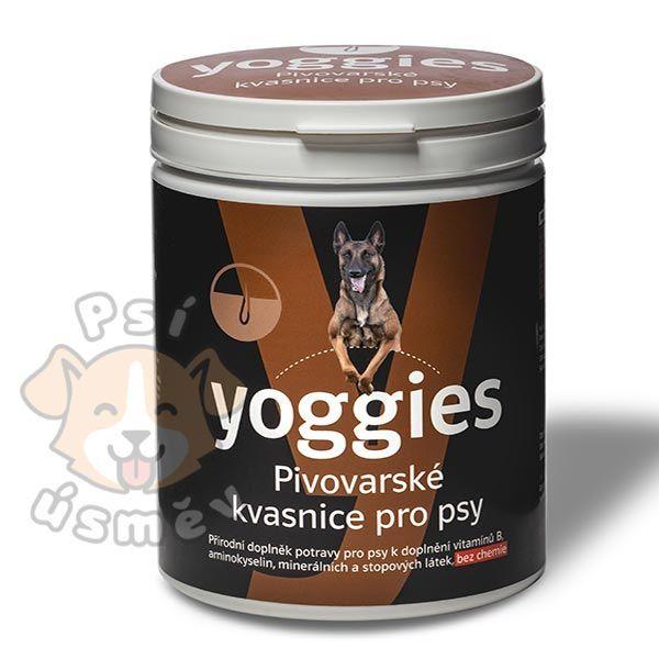 Yoggies Pivovarské kvasnice pro psy 600g